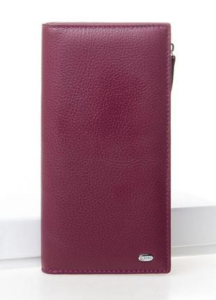 Большой женский кожаный кошелек dr. bond