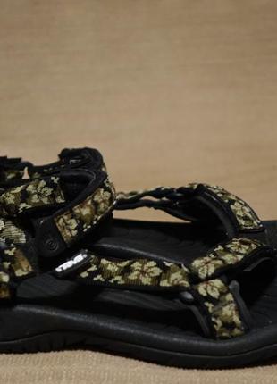 Легкие текстильные фирменные сандалии teva s/n 6455 сша 38 р.( 25 см.)