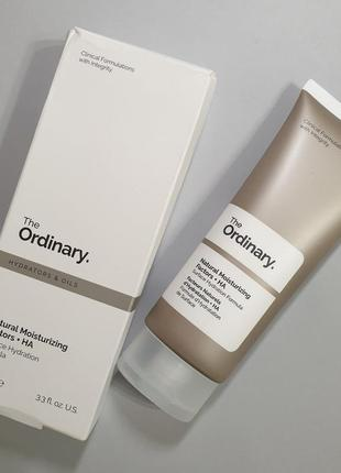 Натуральные увлажняющие факторы the ordinary natural moisturizing factors + ha 100ml