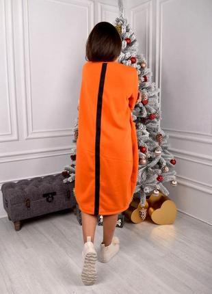 Платье-туника на флисе3 фото
