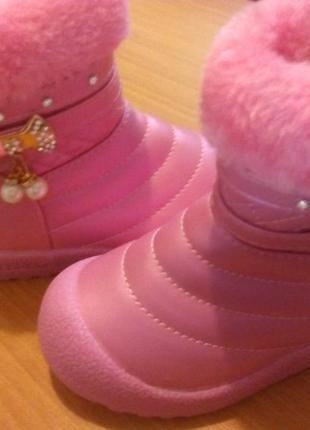 Новые зимние сапожки, ботиночки для девочки