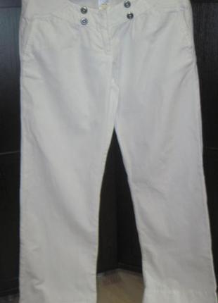 Суперские брюки next для беременных и не только лён+хлопок размер наш м next 8l