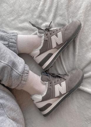 Шикарные женские зимние ботинки топ качество new balance 🎁❄️