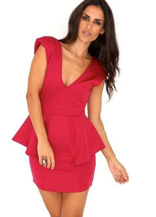 Платье, плаття, сукня, платье с баской, плаття з баскою, платье с плечиками