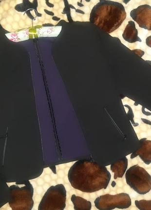 Шикарный пиджак габардиновый от hallhuber