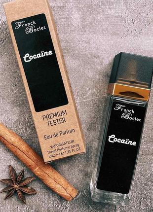 Tester franck boclet cocaïne ( франк бокле кокаин ) 40 мл.