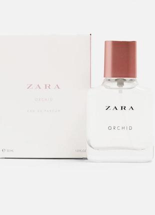 Zara orchid eau de parfum 2007 парфюмированная  вода / духи 30 мл.