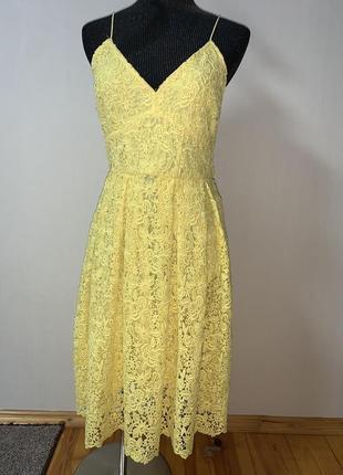 Кружевное платье на бретельках сарафан ☀️