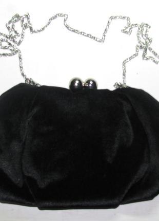 Сумка женская ридикюль клатч на цепочке