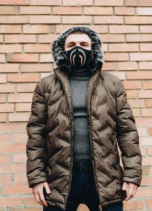 Зимняя куртка . куртка теплая.