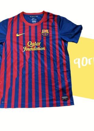 Оригинальная детская футболка fc barcelona. nike 100% оригинал