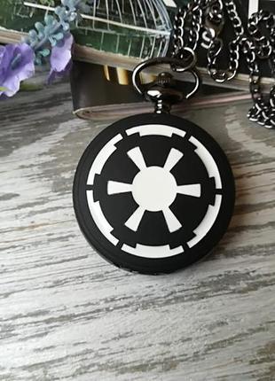 Часы кулон имперский герб звёздные войны star wars