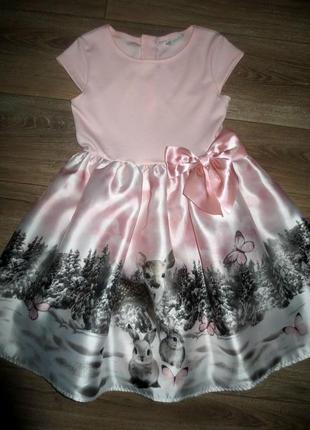 Красивенное нарядное платье на красотку