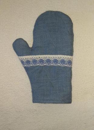 Прихватка-рукавица  для кухни подарок