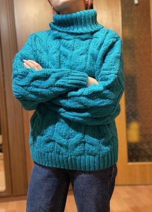 Новый свитер с шерстью