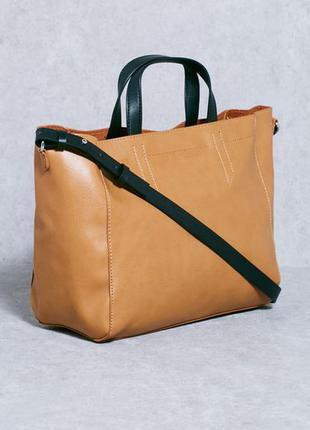Повседневная сумка от mango на длинном ремешке