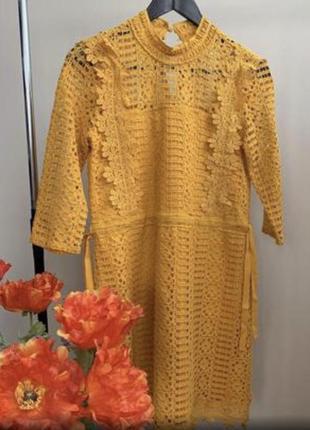 Кружевное платье reserved