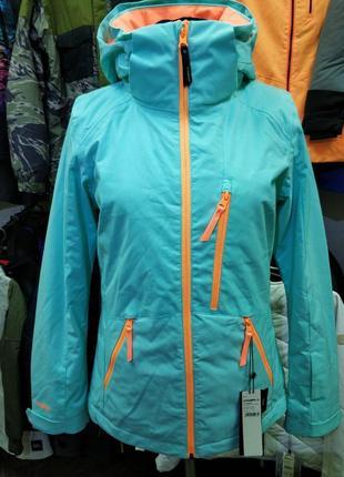 Женская куртка фирмы oneill strechline лыжная сноуборд зимняя яркая