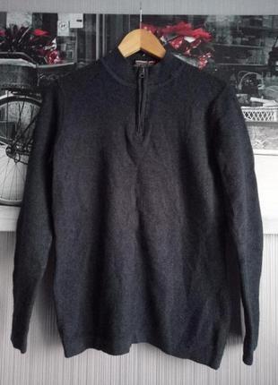 Superdry фирменный теплый шерстяной свитер размер подростковый на 12-14лет