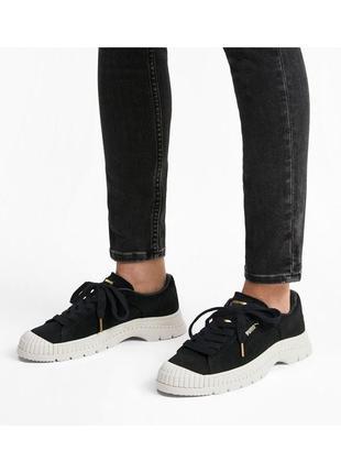 Кеды puma utility suede women's sneakers