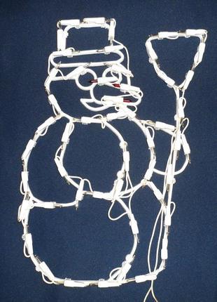 Гирлянда-снеговик большой
