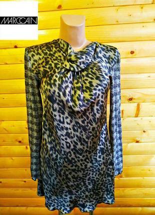 Мега крутое платье в леопардовый принт очень извесного немецкого бренда marc cain