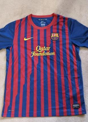 Футболка футбольного клуба барселона (barcelona)/ детская