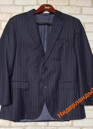 Пиджак 💯 % шерсть. оригинал! торг!!