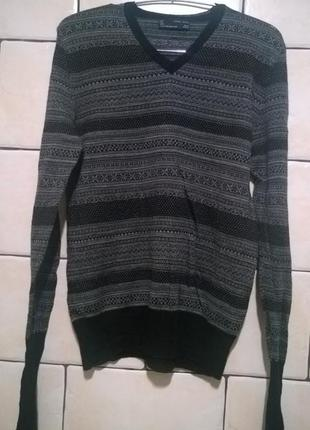 Пуловер джемпер размер м