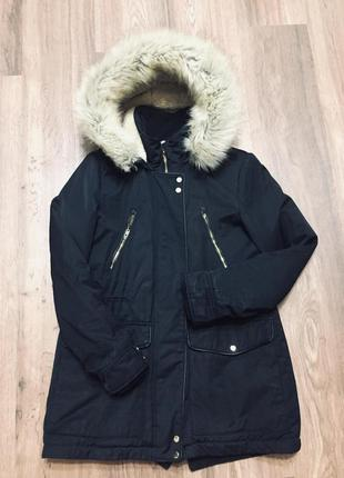 Парка зимняя тёплая курточка