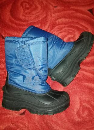 Зимние ботинка сапоги