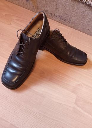 Немецкие, кожаные, мужские туфли, туфельки, броги, полуботинки, балетки, мокасины, лоферы