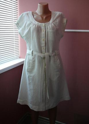 Платье из льна( made in india ) -  12 размера