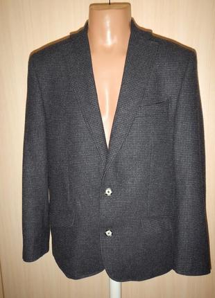 Стильный блейзер жакет пиджак с шерстью austin reed p.m