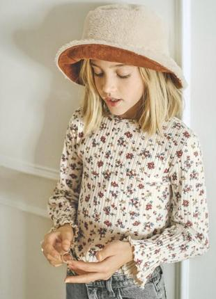 Красивейшая блуза zara в рубчик