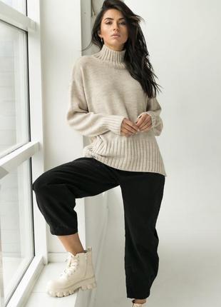 Акція ❤️ свитер теплый с горлом❤️2 фото