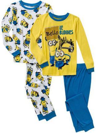 Пижамка на мальчика от 5 до 8 лет с миньонами из америки