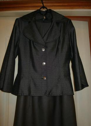 Пиджак с баской 46 размера