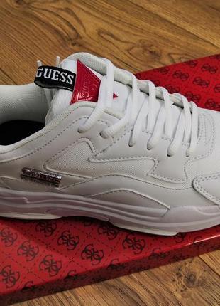 Guess кроссовки белые , кросівки білі guess , кроси, красовки