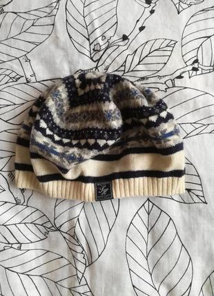 Распродажа шерстяная шапка tommy hilfiger