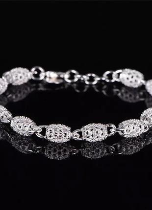 Красивый браслет, серебро 925 проба