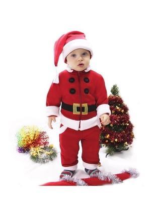 Новорічний костюм санта, дід мороз