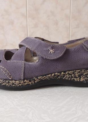 Rieker,германия. кожаные балетки,мокасины,сандалии,туфли,лоферы, размер 37