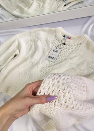 Новый нежный свитер размер m—л