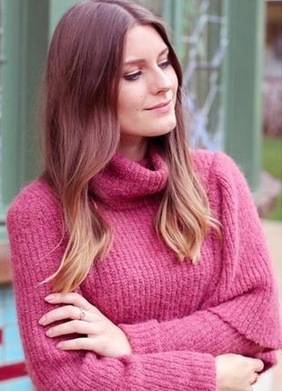 Платье-свитер из альпаки