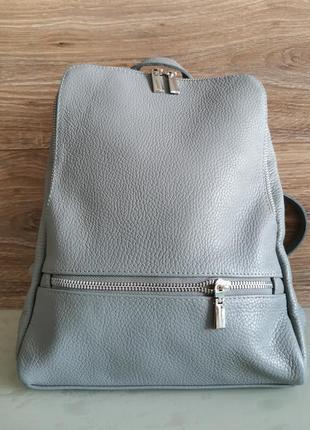 Vera pelle женская сумка - рюкзак / backpack / кожа