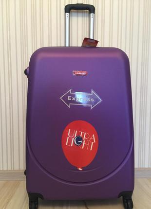 Акция  чемодан gravitt  690 новый валіза на колесах разние цвета