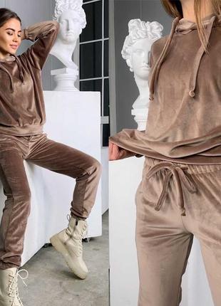 Костюм двойка, худи и штаны, спортивный костюм