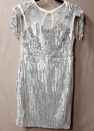 Платье нарядное,платье новогоднее,платье в паетки