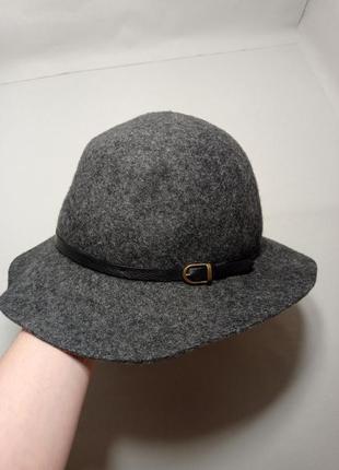 Club monaco стильная шляпа шерсть.